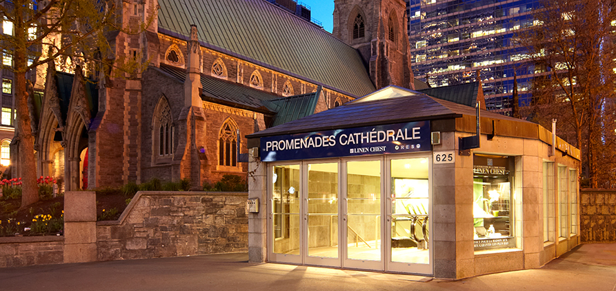 Image result for cathedrale shopping center montreal